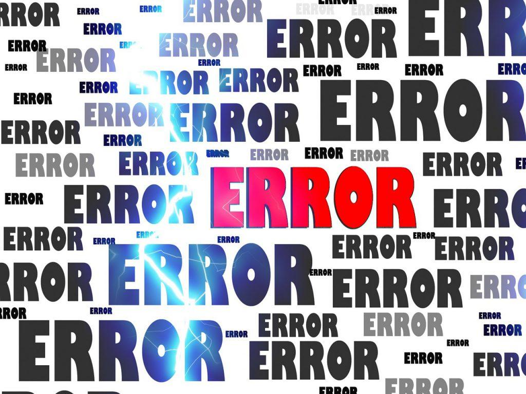 Accounts payable errors