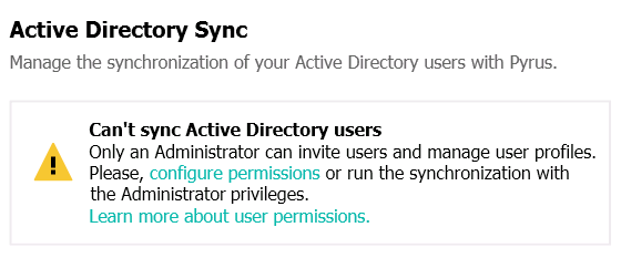 Synchronizing user accounts with Active Directory and G