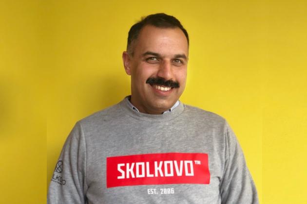 Максим Мальский в Сколково